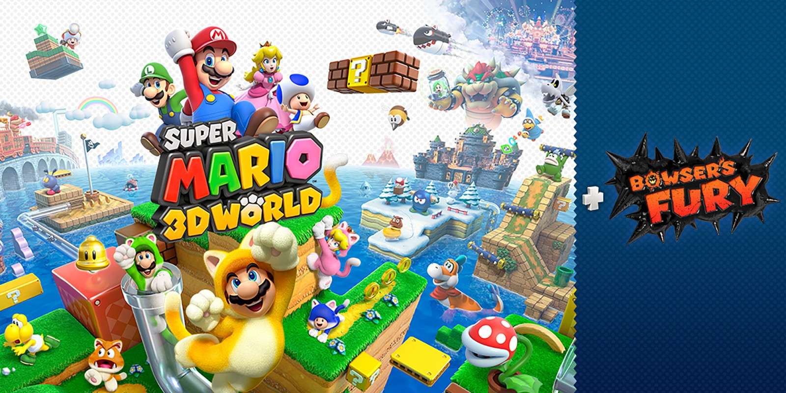 Mario 3D Worlds + Bowser Fury